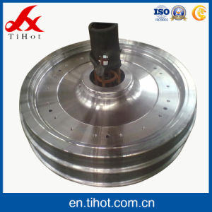 Hot Sale Cold Forging Train Wheels for Locomotive Parts