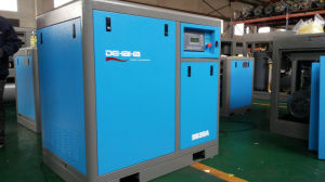 Quality and Quantity Assured Tank Combined Belt Driven (7.5KW) Screw Air Compressor pictures & photos