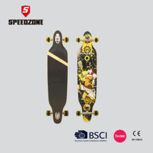 "Speedzone 42"" Freeride Maple Deck Longboard pictures & photos"