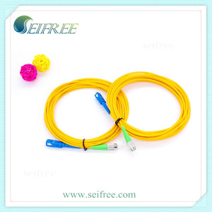 FC/LC/SC/ST/MU/E2000/MPO Fiber Optic Patch Cord Cable pictures & photos