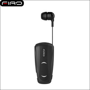 08799ffe2f6 Top Sale 100mAh Clip Retractable Earbuds Business Wireless Bluetooth Headset