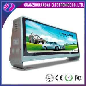 Double Side Wireless Taxi Roof LED Screen Taxi LED Display pictures & photos