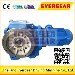 K Series Helical Gear Reducer Gearbox Shaft Spiral Bevel Gear Reductor pictures & photos