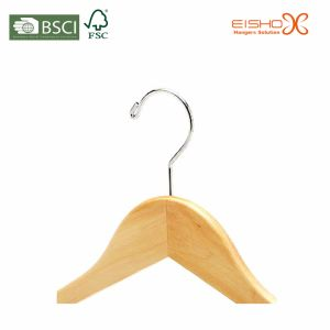 Wooden Suit Hanger With Pant-Locking Bar (MP639) pictures & photos