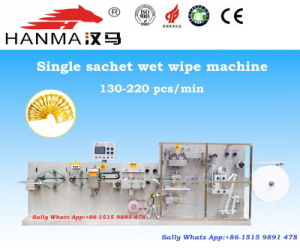 Hm-P200A Full Automatic Single Piece Wet Wipes Making Machine Production Liine