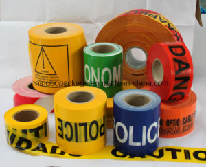 "Normal Caution Tape with Box Packing Warning Tape 3""X1000′x30mic pictures & photos"