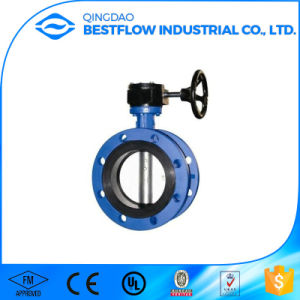 Single Flange Type Cast Iron Butterfly Valve pictures & photos