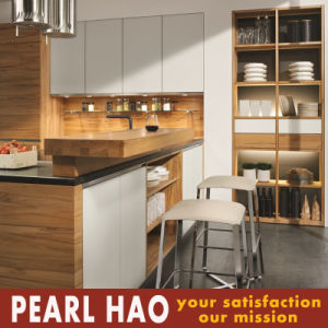 Customize Melamine Kitchen Cabinets with Invisible Handle pictures & photos