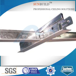 Ceiling Tee Bar with 80g Zinc Hot Dipped Galvanized Steel