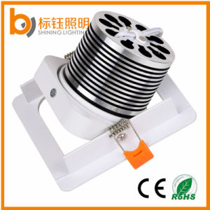 High Power COB Ceiling Spotlight Interior Lamp 10W Square LED Downlight pictures & photos
