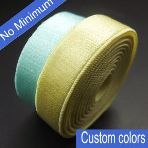 10mm Satin Elastic Bra Strap with Plush Back pictures & photos