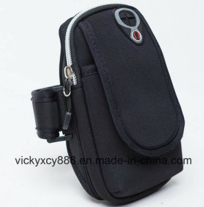 Breathable Outdoor Sports Fitness Running Cell Phone Arm Bag (CY3644) pictures & photos