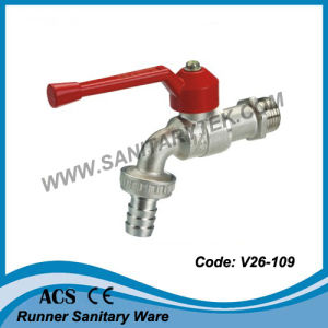 Bibcock Valve with Hose Union (V26-109) pictures & photos