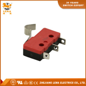 Lema 5A Black and Red Kw12-53 Micro Switch pictures & photos