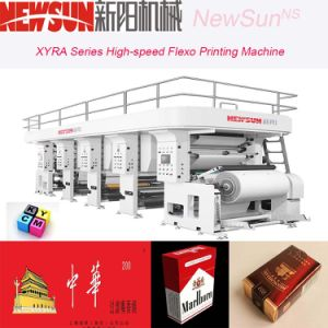 Xyra-1350 High-Speed Cigarette Package Flexo Line Printing Machine pictures & photos