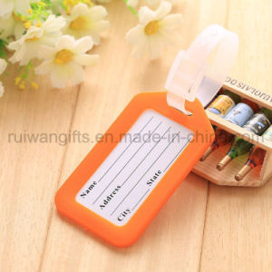 Colorful Travel Luggage Tag PVC ID Tag pictures & photos