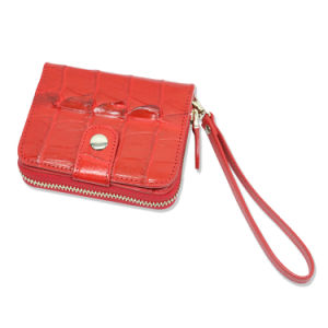 Women Leather Wallet Genuine Crocodile Fashion Coin Purse pictures & photos