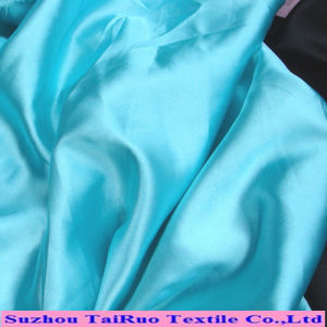 50d Poly Yarn Dyed Skirt Dress Spandex Stretch Satin Fabric pictures & photos