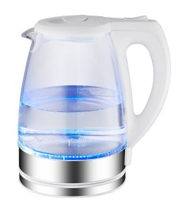 Glass Kettle with on/off Switch LED Indicator Light pictures & photos