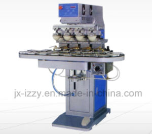 4 Colorpad Printing Machine with Rotary Plate