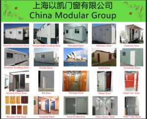Metal Door for Modified Containers (CHAM-TD05) pictures & photos
