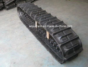 Liulin Combined Harvester Rubber Crawler pictures & photos