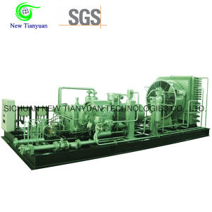 25MPa Discharge Pressure CNG Natural Gas Compressor