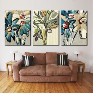 China Factory High Resolution Custom Canvas Famous Flower Oil Painting