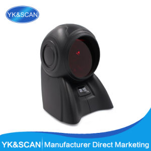Desktop Omnidirectional Barcode Scanner 20 Scan Lines for POS System and Supermarket pictures & photos