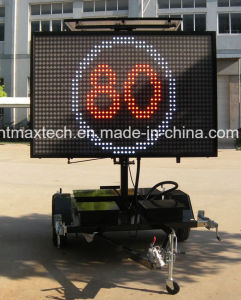 Maintenance Free Mobile Multi Colour Variable Message Traffic Sign for Traffic Management pictures & photos