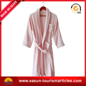 Unique Patterned Extra Thick Micro Fiber Cotton Bathrobes pictures & photos