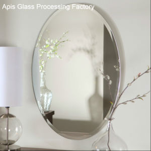 Chamfering 1 Beveled Edge Frameless Bathroom Silver Tempered Mirror Gl Decorative Wall Mirrors