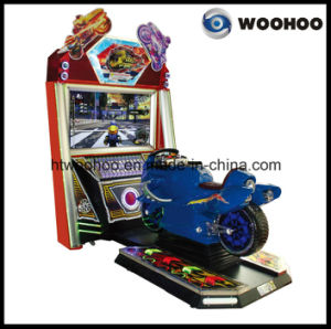 "Indoor Playground Motorcycle Racing Car Simulator Machine with 47""Screen"