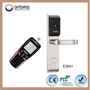 CE Certified Stainless Steel Electronic RF ID Card Hotel Lock pictures & photos