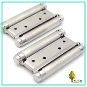 Stainless Steel 201 Spring Hinge/ 5-Inch (1.5mm) Double Action Spring Hinge
