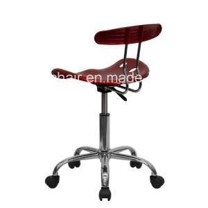 Flash Furniture Vibrant Wine Red and Chrome Computer Task Chair with Tractor Seat Zs-A8101 pictures & photos