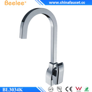 Beelee Contemporary Brass Kitchen Faucet with Single Lever