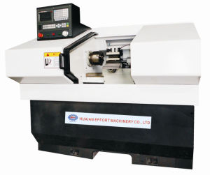 CNC Lathe with Linear Guide Rail
