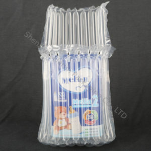 L Shape Shockproof Air Cushion Film Bags for Milk Can