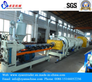 HDPE Heat Insulation Pipe Extrusion Machine pictures & photos