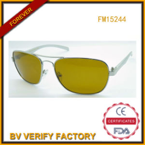 Fashion Metal Sunglasses with Polarised Lens (FM15244) pictures & photos