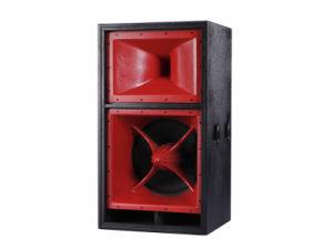 Dual 18inch 3-Way Professional Passive Speaker for Stage pictures & photos