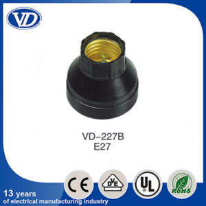 E27 Plastic Lamp Holder for Ceiling Rose Vd-227b