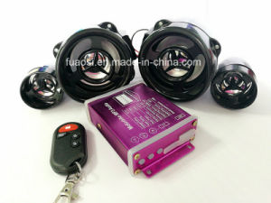 Motorcycle Alarm System MP3 Audio with Twin-Speaker