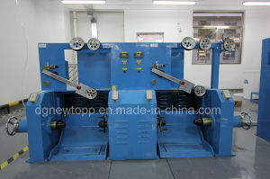 Skin-Foam-Skin Triple-Layer Co-Extrusion Cable Making Machine pictures & photos