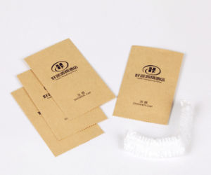 Disposable Shower Cap with Print Logo Carboard Box pictures & photos