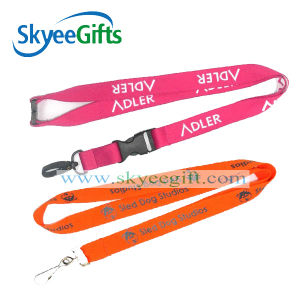 Custom Polyester Double Sides Printed Lanyard pictures & photos
