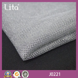 Knitted Technics Polyester Metallic Mesh Fabric