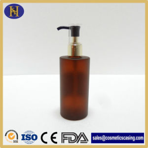 Body Lotion Plastic Pet Amber Bottle for Soap/Shampoo pictures & photos