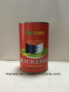 425g Canned Mackerel Fish in Tomato Sauce pictures & photos